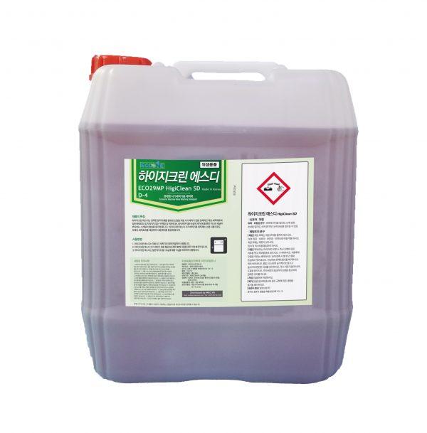 Nước rửa chén cho máy rửa chén Cao cấp HigiClean SD