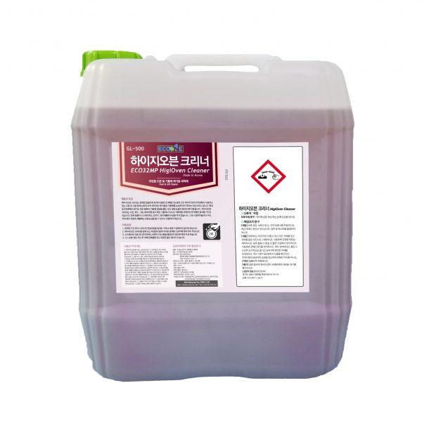 Hóa chất loại bỏ vết bẩn cứng đầu trong bếp Eco HigiOven Cleaner dung tích 18,75 lit
