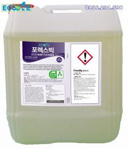 Hóa chất tẩy rửa gốc nước làm sạch vết bẩn dầu Eco Forex Big dung tích 18,75 lit