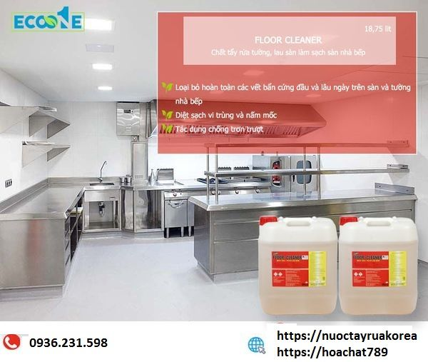 Chất tẩy rửa vệ sinh nhà bếp công nghiệp