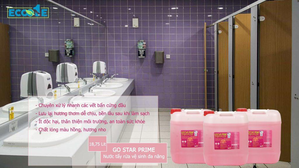 Chất tẩy rửa làm sạch, tẩy rửa vệ sinh đa năng - GO STAR PRIME