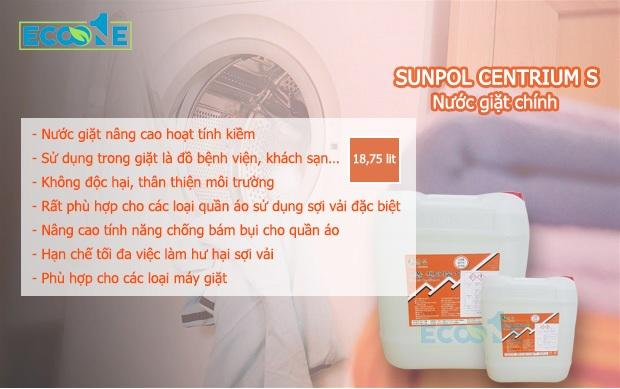 Hóa chất giặt chính tính kiềm, SUNPOL CENTRIUM S